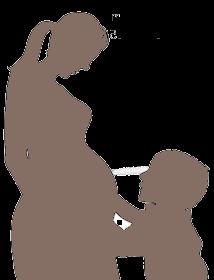 муж бросил беременную